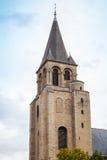 Abbotskloster av St Germain des Pres, Paris, Frankrike Arkivbilder