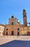 Abbotskloster av St. Giovanni Evangelista. Parma. Emilia-Romagna. Italien. Royaltyfria Foton