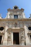 Abbotskloster av St John evangelisten Parma Arkivbilder