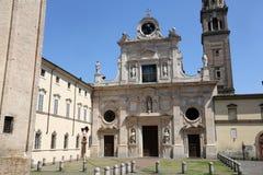 Abbotskloster av St John evangelisten Parma italy Arkivbild