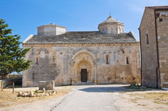 Abbotskloster av St.-Leonardo. Manfredonia. Puglia. Italien. Royaltyfri Fotografi