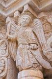 Abbotskloster av St.-Leonardo. Manfredonia. Puglia. Italien. Royaltyfri Foto