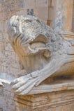 Abbotskloster av St.-Leonardo. Manfredonia. Puglia. Italien. Royaltyfria Foton