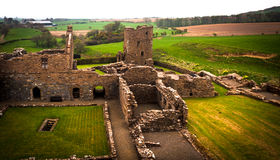 Abbotskloster av St Mary av Crossraguel Royaltyfri Fotografi