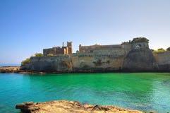 Abbotskloster av St. Stefano. Monopoli. Puglia. Italien. Royaltyfria Bilder