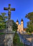 Abbotskloster av Tihany Royaltyfri Fotografi