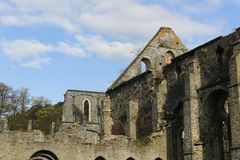 Abbotskloster av Villers-La-Ville Arkivfoton