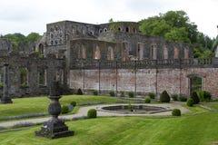 Abbotskloster av Villers-La-Ville Fotografering för Bildbyråer