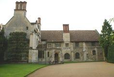 Abbotskloster Cambridge, England Royaltyfria Foton