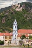 Abbotskloster för DÃ-¼rnstein Arkivbild