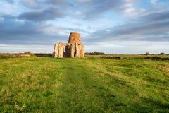 Abbotskloster för St Benets i Norfolk Royaltyfri Foto