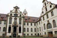 Abbotskloster för St Mang, Fussen (Kloster St Mang) Arkivfoto