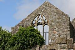 Abbotskloster för St Marys, Howth, Dublin Arkivbild