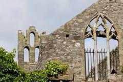 Abbotskloster för St Marys, Howth, Dublin Royaltyfri Bild