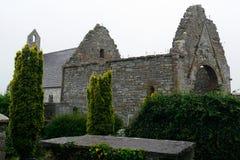 Abbotskloster fördärvar, Ardfert, Irland Arkivbilder