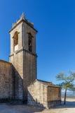 Abbotskloster i berget, Spanien, Aragon Royaltyfria Foton