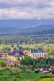 Abbotskloster i Krzeszï ¿ ½ w - lägre Silesia, Polen Royaltyfri Bild