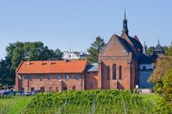 Abbotskloster i Sandomierz - Polen Arkivfoton
