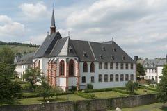 Abbotskloster och gammalt sjukhus Traben-Trarbach Arkivfoto