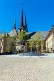Abbotskloster och kyrka för St Ioann, Luxembourg Royaltyfria Bilder