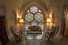 Abbotsklosterinre Royaltyfri Fotografi