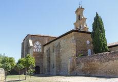 Abbotsklosterkloster i Canas, La Rioja Arkivfoton
