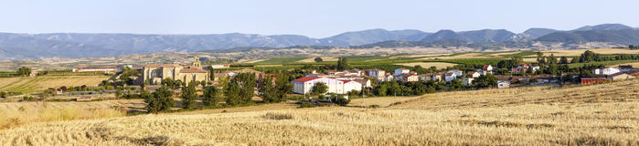 Abbotsklosterkloster i Canas, La Rioja Royaltyfria Foton