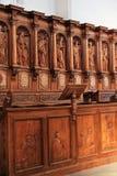 Abbotsklosterkyrka av Ebersmunster Royaltyfria Foton