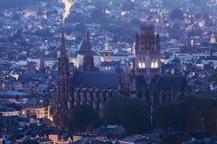 Abbotsklosterkyrka av Saint-ouen i Rouen Fotografering för Bildbyråer