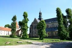 Abbotsklosterkyrkan i Sulejow Royaltyfria Bilder