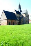 Abbotsklosterkyrkan i Sulejow Royaltyfri Fotografi