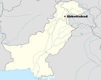 Abbottabad nel Pakistan Illustrazione Vettoriale