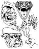 Abbozzi di fantasia royalty illustrazione gratis