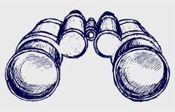 Abbozzo del binocolo royalty illustrazione gratis