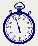 Abbozzo del cronometro illustrazione vettoriale