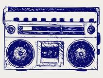 Abbozzo del registratore illustrazione di stock