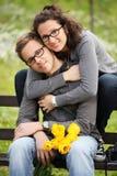 Abbracci Immagini Stock