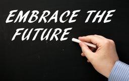 Abbracci il futuro Fotografie Stock