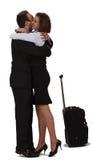 Abbracciare degli amanti Fotografia Stock Libera da Diritti
