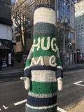 Abbraccimi, albero fotografia stock