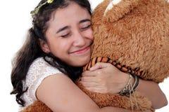 Abbraccimi strettamente Fotografia Stock