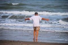 Abbraccio del mare Fotografia Stock Libera da Diritti