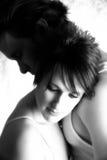 Abbraccio delle coppie Fotografie Stock