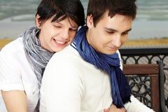 Abbraccio dolce Fotografia Stock