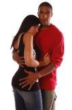 Abbraccio sexy Fotografia Stock