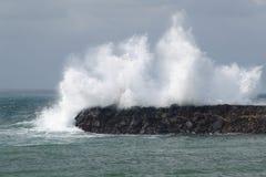 Abbrechende Welle lizenzfreies stockfoto
