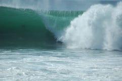 Abbrechende Welle Stockbild