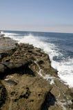 Abbrechende Wellen Stockfoto