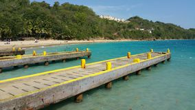 Abbruchsboot Strand Puerto Rico Lizenzfreie Stockfotos