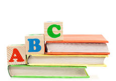 ABC块 库存图片
